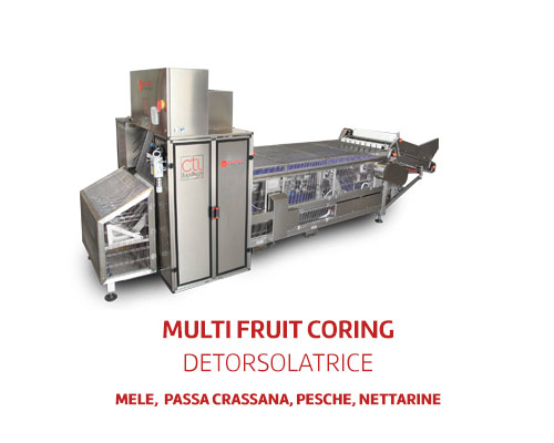 Multifruit coring